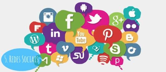 5- Redes Sociais