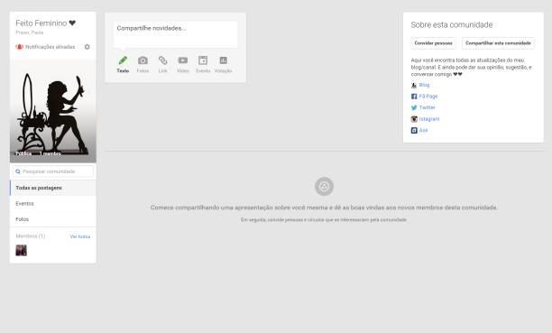 Comunidade do Google Plus