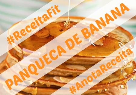 Anota Receita Panqueca de Banana