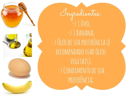 Ingredientes -> Panqueca de Banana
